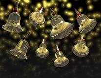 Jingle bells. Digital visualization of jingle bells Royalty Free Stock Image