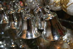 Jingle bells. Xmas decoration, toy Royalty Free Stock Images