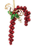 Jingle Bells. Put together like a candy cane Stock Images