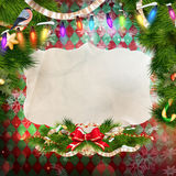 Jingle bells background. EPS 10 Royalty Free Stock Photography
