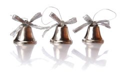 Jingle Bells - Christmas. Jingle bells for Christmas or New Year card Stock Photos