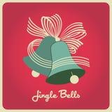 Jingle bells Christmas colors Stock Photo