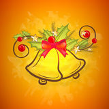 Jingle Bells creativo per il Buon Natale Fotografia Stock
