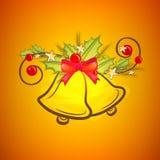 Jingle Bells creativo per la celebrazione di Natale Fotografia Stock