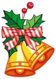 Jingle Bells Decorazione di natale Fotografia Stock