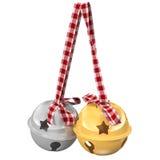 Jingle Bells illustrazione 3D Immagini Stock Libere da Diritti
