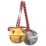 Jingle Bells illustrazione 3D Immagini Stock