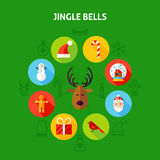 Jingle Bells Infographic Concept Immagine Stock Libera da Diritti