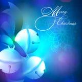 Jingle Bells lucido creativo per il Buon Natale Immagini Stock Libere da Diritti