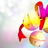 Jingle Bells lucido per il Buon Natale Fotografie Stock