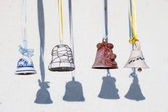 Decorate jingle bells Stock Images