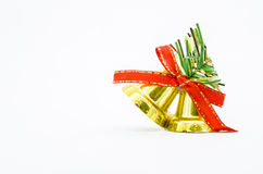 Jingle bells with red bow Stock Image