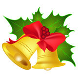 Jingle bells. On white background  illustration Stock Images