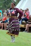 Jingle Dance - Powwow 2013 royalty-vrije stock foto
