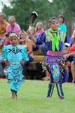 Jingle Dance - Powwow 2013 stock foto