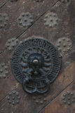 Jingle of middle ages door Royalty Free Stock Images