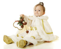 Jingling Snow Princess Stock Photo