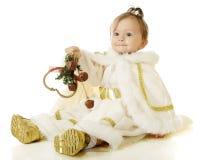 Jingling Snow Princess Stock Photo