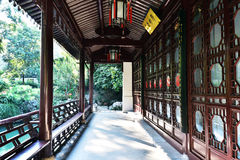 The Jingmiao Palace Passageway Stock Photography