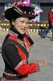 Jingpo Ethnic Minority Lady, China Royalty Free Stock Photography