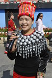 Jingpo Ethnic Minority Lady, China Stock Photography