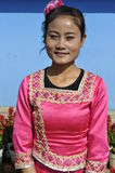Jingpo Ethnic Minority Lady, China Stock Images