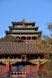 jingshan Beijing wzgórze zdjęcia royalty free