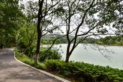Jingshan lake Royalty Free Stock Photos
