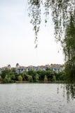 Jingshan lake Royalty Free Stock Images