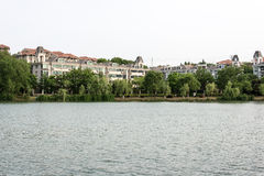 Jingshan lake Stock Photos