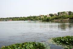 Jingshan lake Royalty Free Stock Photo