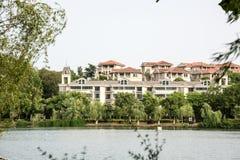 Jingshan lake Stock Images