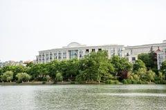 Jingshan lake Stock Photo