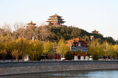 Jingshan Park of Beijing Royalty Free Stock Image