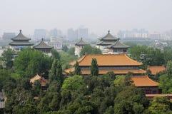 Jingshan Park Beijing China Stock Photos