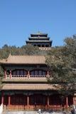Jingshan park in Beijing Royalty Free Stock Photo