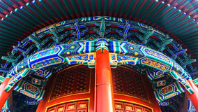 Jingshan park in Beijing Stock Photos