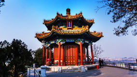 Jingshan park in Beijing Royalty Free Stock Image