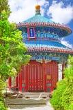 Jingshan Park, or the Coal Mountain, near the Forbidden City,Gua Royalty Free Stock Photos