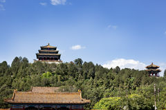 Jingshan park Royalty Free Stock Images