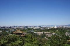 Jingshan parkerar Fotografering för Bildbyråer