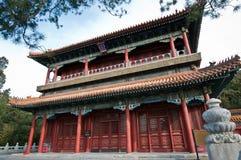 Jingshan parkerar Arkivfoto