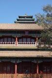 Jingshan parkerar i Peking Arkivfoto
