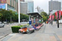 Jingshan road scenery Stock Images