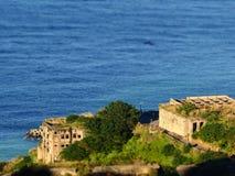 Jinguashi 13 ruines, nouveau Taïpeh, Taïwan Images stock