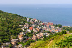 Jinguashi village in the mountain Royalty Free Stock Images