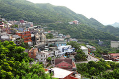 Jinguashi village , in Taiwan royalty free stock images