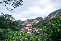 Jinguashi village , in Taiwan royalty free stock image