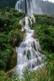 Jingxi Triassic Ridge Falls Stock Images