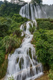 Jingxi Triassic Ridge Falls Royalty Free Stock Photos